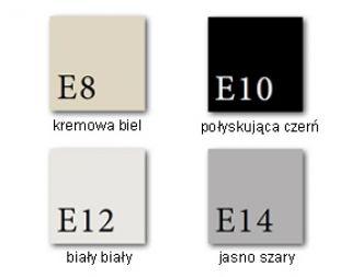 Piec kominkowy Dovre SENSE 203/203E (3 KOLORY EMALII) - Dovre SENSE 203 jasny szarty emalia - E14