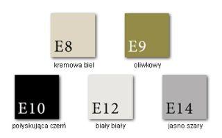 Piec kominkowy Dovre Vintage 50/50E (4 KOLORY EMALII) - Dovre Vintage 50 kremowa biel emalia