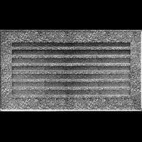 Kratka FRESH czarno-srebrna 17 x 17/30/37/49/70 - Kratka FRESH czarno-srebrna 17x30