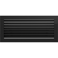 Kratka FRESH czarna 17 x 17/30/37/49/70 - Kratka FRESH czarna 17x39