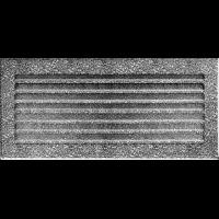 Kratka FRESH czarno-srebrna 17 x 17/30/37/49/70 - Kratka FRESH czarno-srebrna 17x37