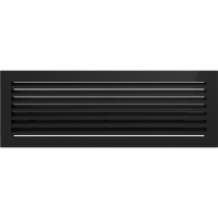 Kratka FRESH czarna 17 x 17/30/37/49/70 - Kratka FRESH czarna 17x49