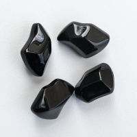 Kamyki ozdobne FIRE GLASS - kryształ czarny