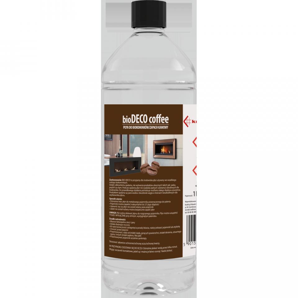 Płyn do biokominków zapachowy - kawa